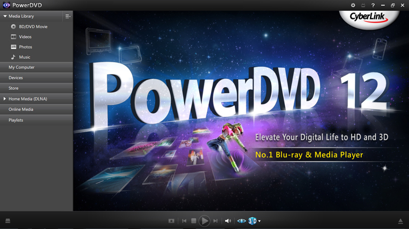 PowerDVD 12 Ultra screenshot 3
