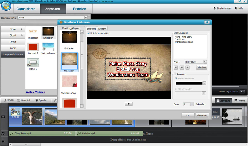 DVD Slideshow builder HD - Video Deluxe screenshot 2