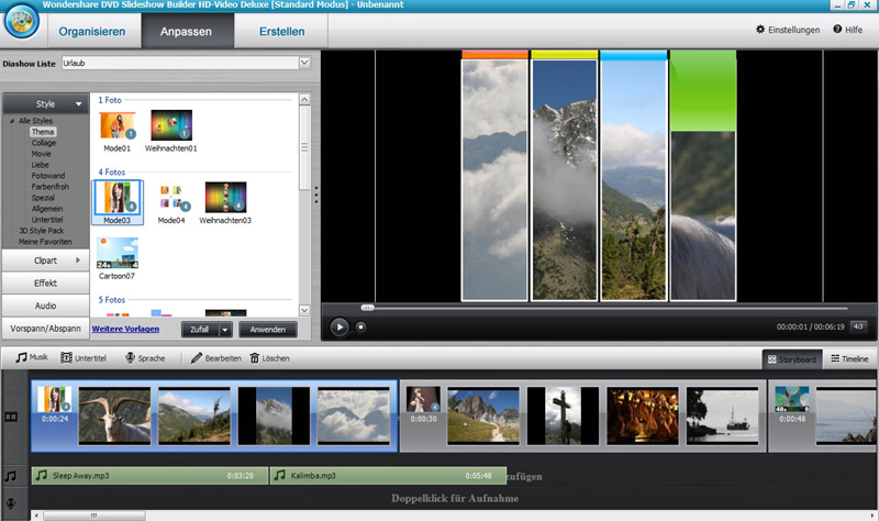 DVD Slideshow builder HD - Video Deluxe screenshot 3