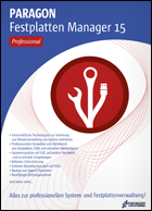 Festplatten Manager 15 Professional
