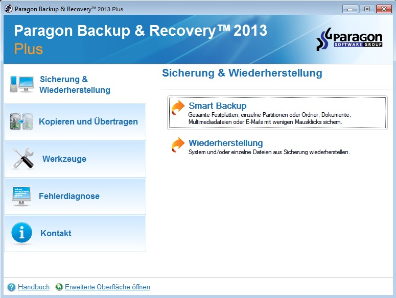 Backup & Recovery 2013 Plus Edition screenshot 2