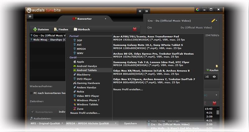 Audials Tunebite 10 Premium screenshot 6