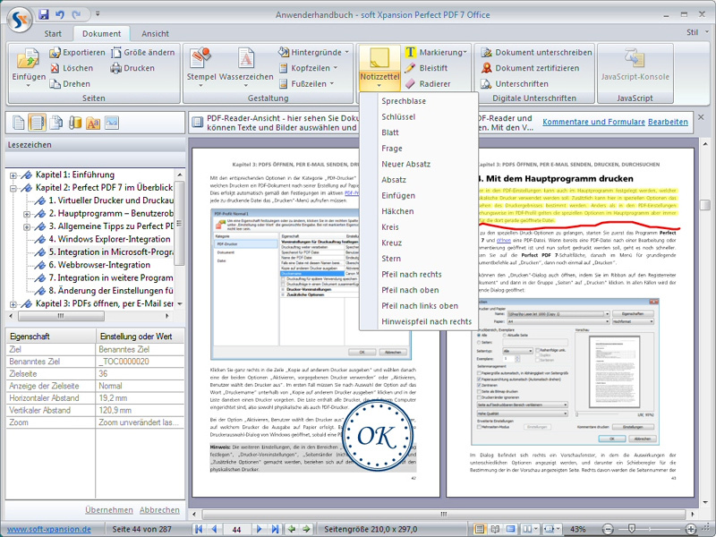 Perfect PDF 7 Office screenshot 2