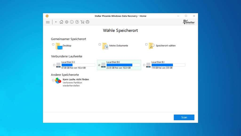 Stellar Phoenix Windows Data Recovery Home V7 screenshot 2