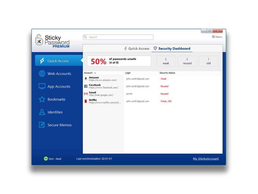 Sticky Password Premium - 1 user / 1 year screenshot 4