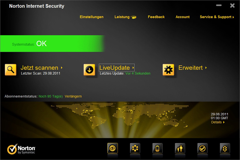 Norton Internet Security 2012 screenshot 2