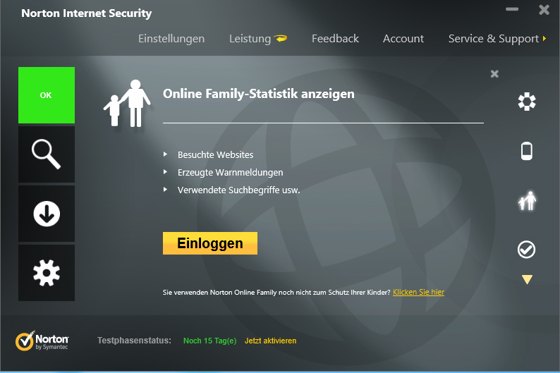Norton Internet Security 2013 screenshot 5