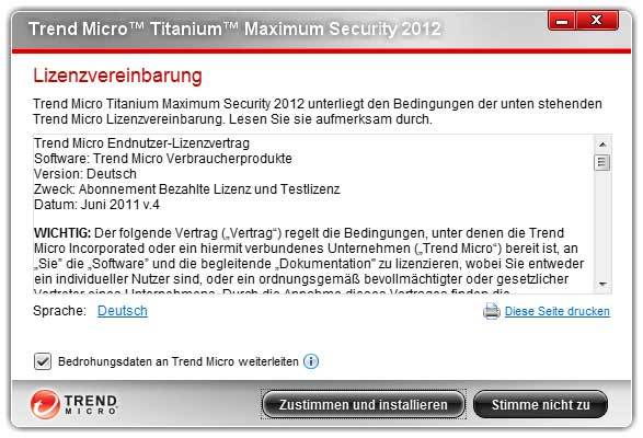 Trend Micro Titanium Security for Netbooks 2012 screenshot 4