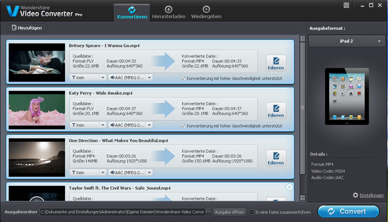 Video Converter PRO screenshot 3