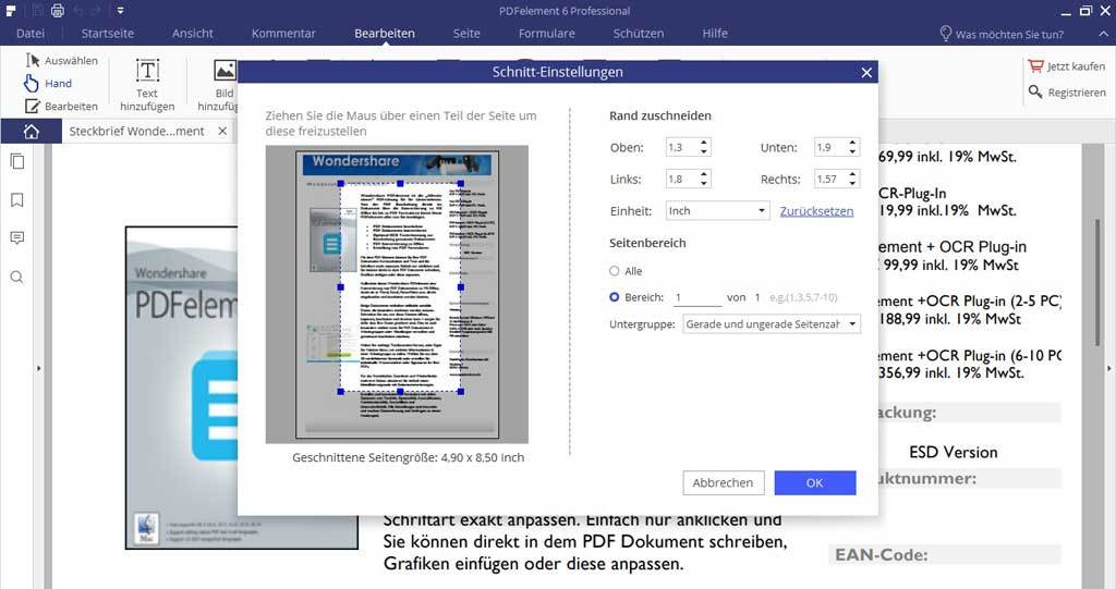 Wondershare PDFelement 6.5 Professional screenshot 1